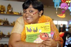 Jeeva Raghunathan, Children's Storyteller from Chennai at Mother,Jeeva Raghunathan, Children's Storyteller from Chennai at Mother